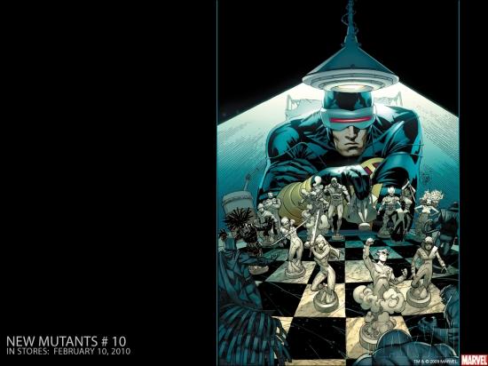 New Mutants (1983) #10 Wallpaper
