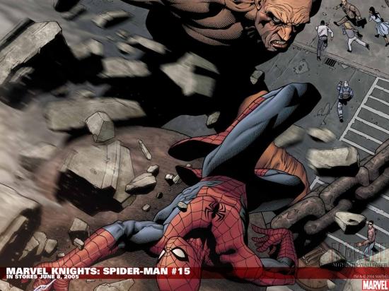 Marvel Knights Spider-Man (2004) #15 Wallpaper