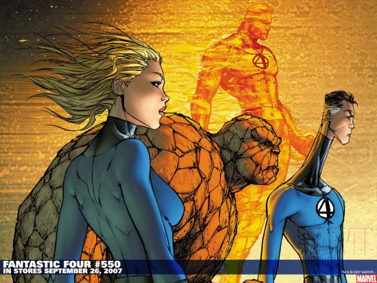 Fantastic Four (1998) #550 Wallpaper