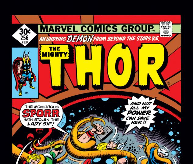 Thor (1966) #256 Cover
