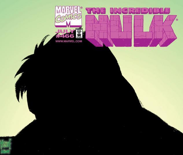 Incredible Hulk (1962) #466 Cover