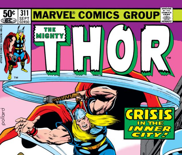 Thor (1966) #311 Cover