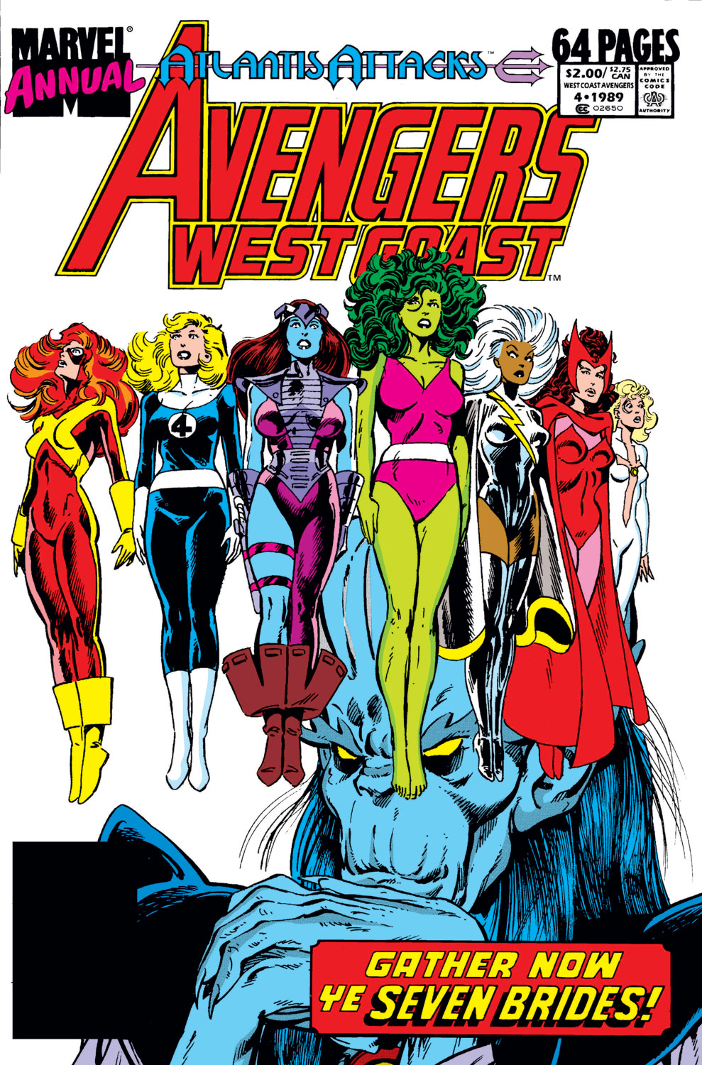 Avengers West Coast Annual (1986) #4