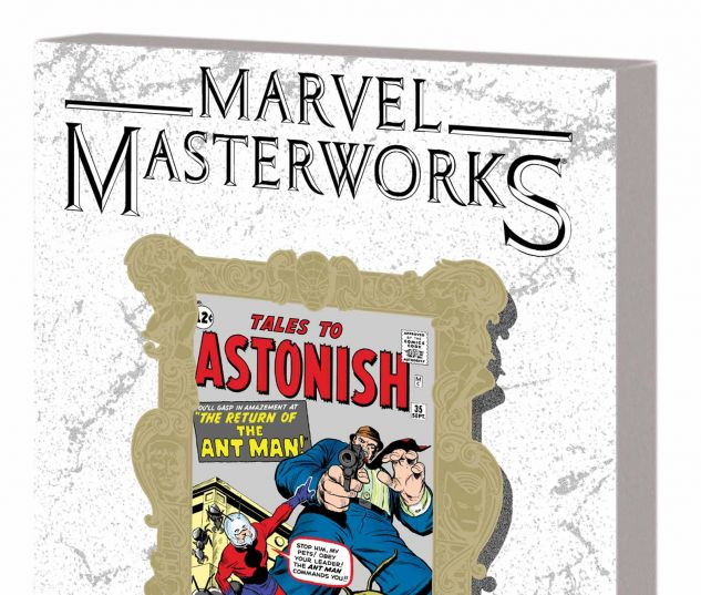 MARVEL MASTERWORKS: ANT-MAN/GIANT-MAN VOL. 1 TPB VARIANT (DM ONLY)