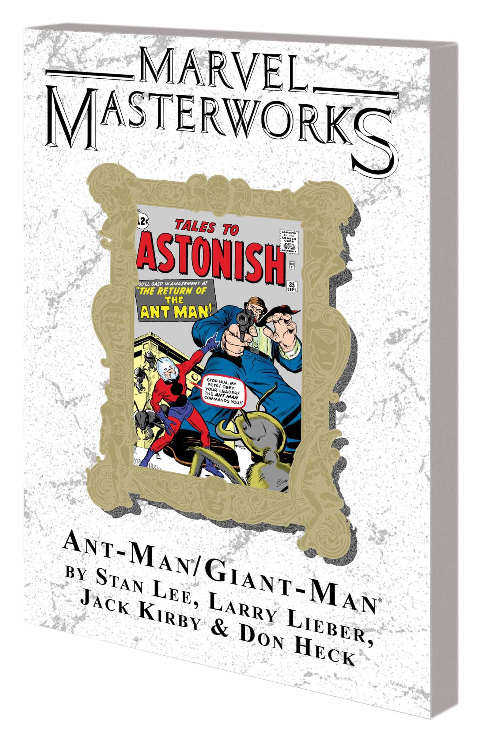 Marvel Masterworks: Ant-Man/Giant-Man (Trade Paperback)