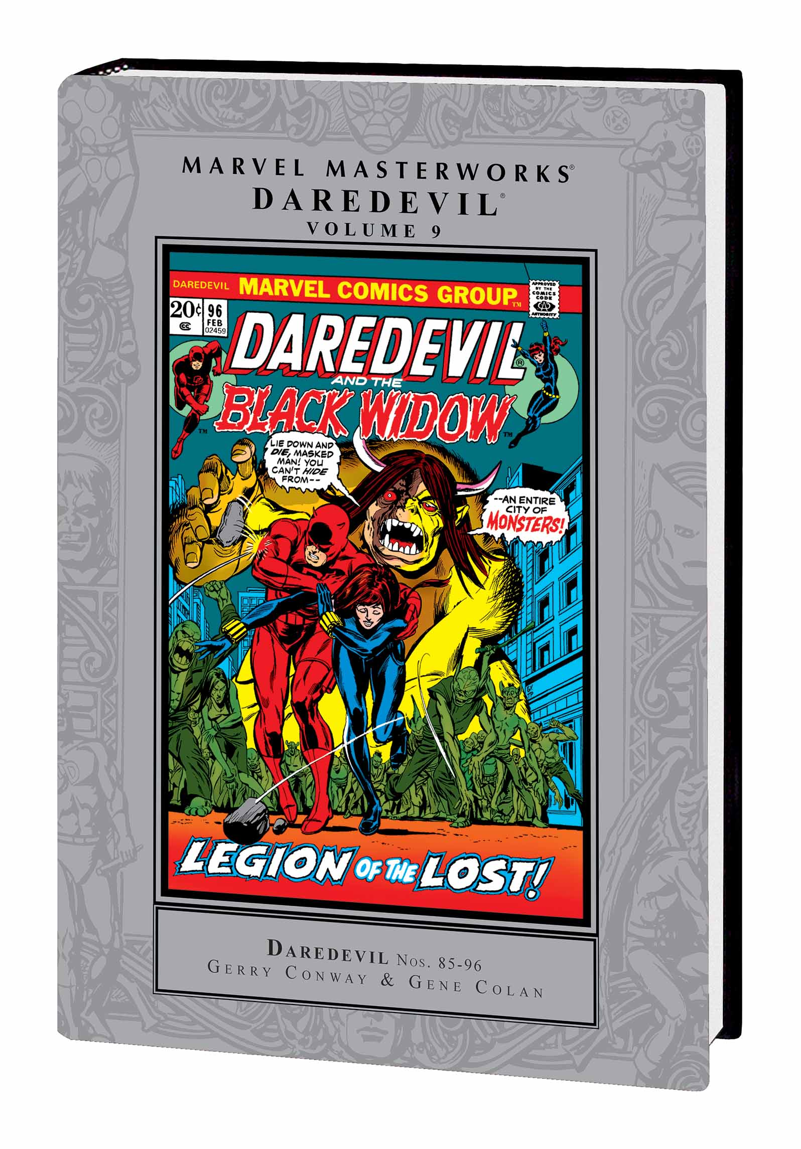 Marvel Masterworks: Daredevil Vol. 9 (Hardcover)