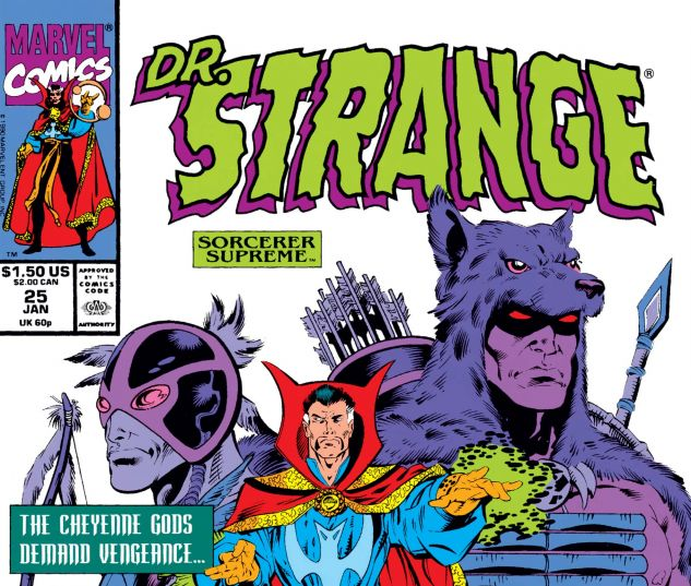 Cover for DOCTOR STRANGE, SORCERER SUPREME 25