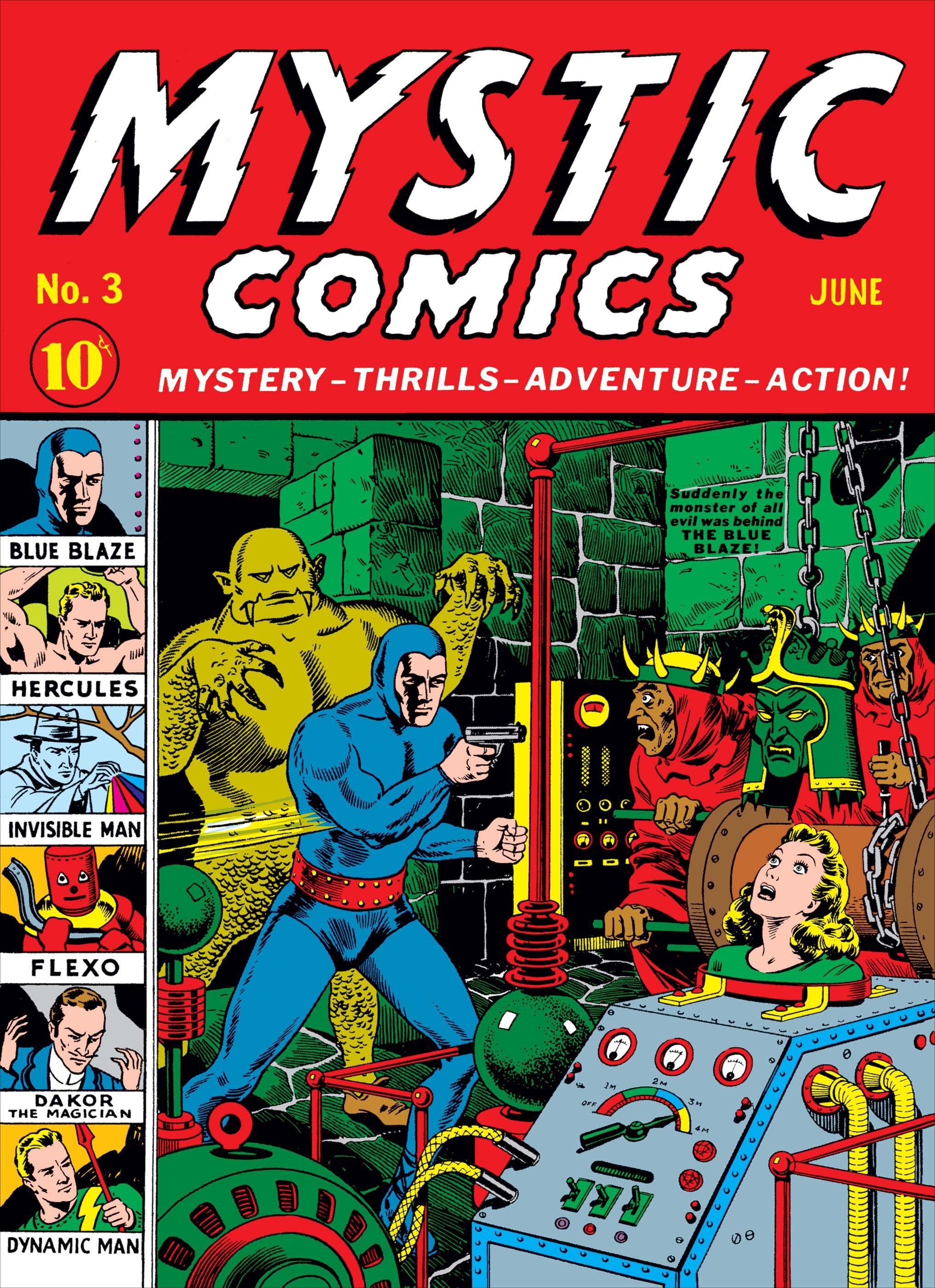 Mystic Comics (1940) #3
