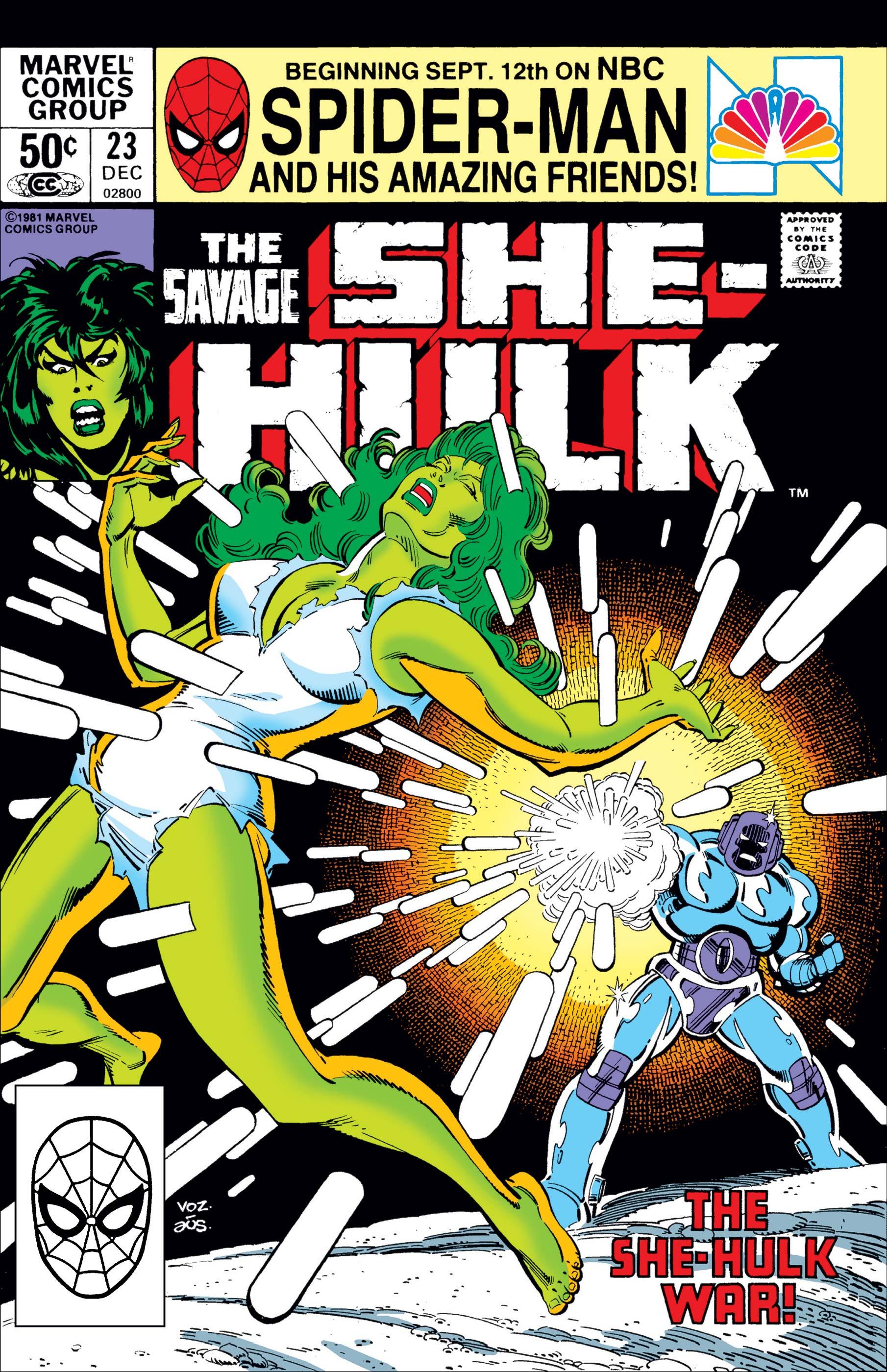 Savage She-Hulk (1980) #23