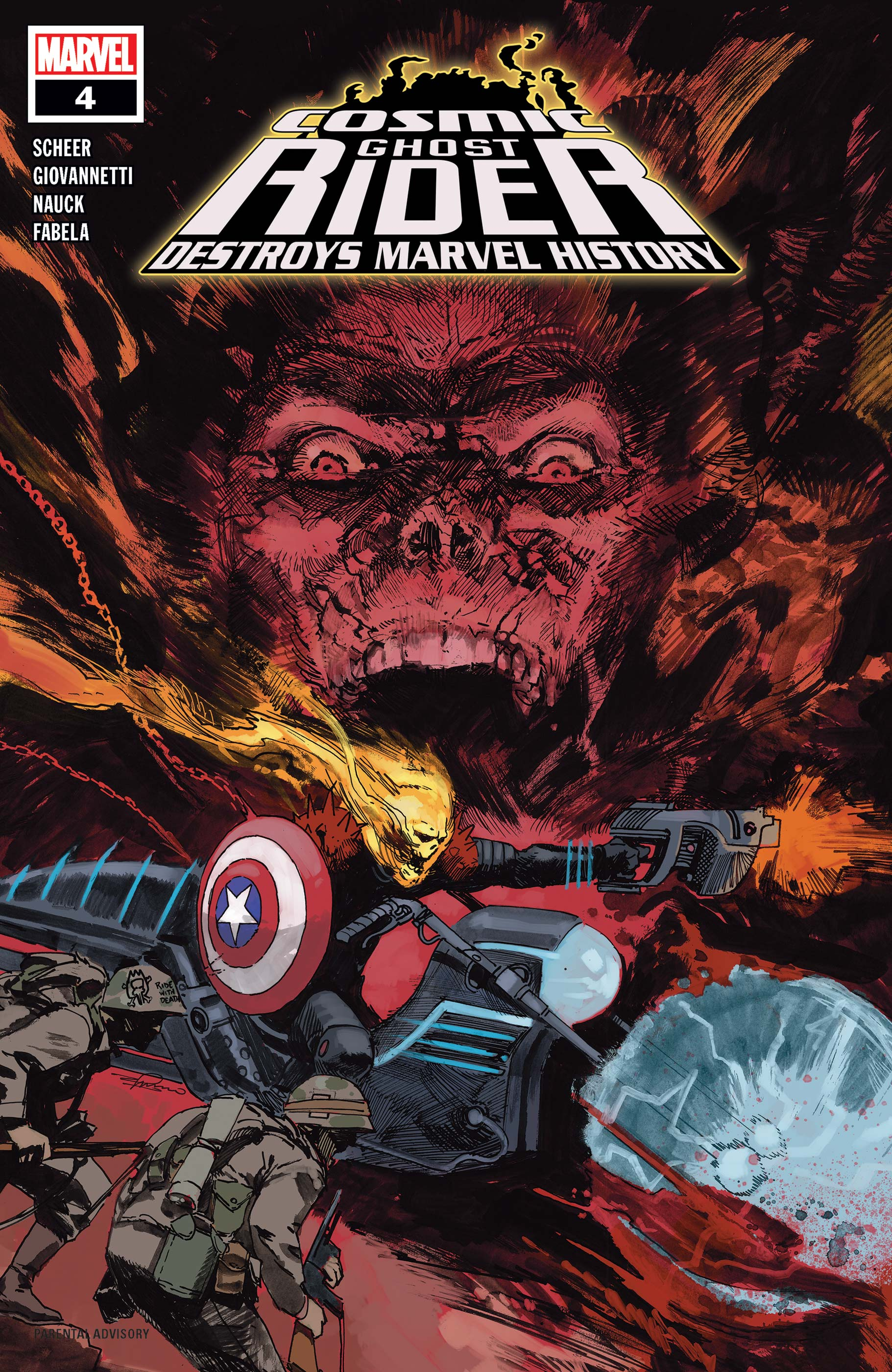 Cosmic Ghost Rider Destroys Marvel History (2019) #4