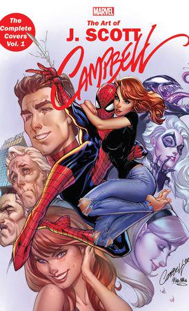 Marvel Monograph: The Art Of J. Scott Campbell - The Complete Covers Vol. 1 (Trade Paperback)