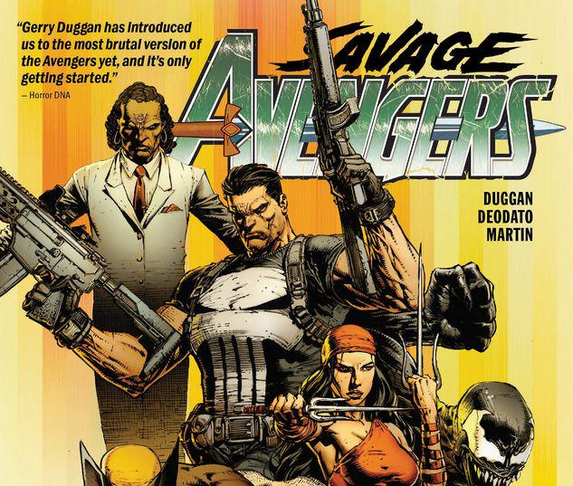SAVAGE AVENGERS VOL. 1: CITY OF SICKLES TPB #1