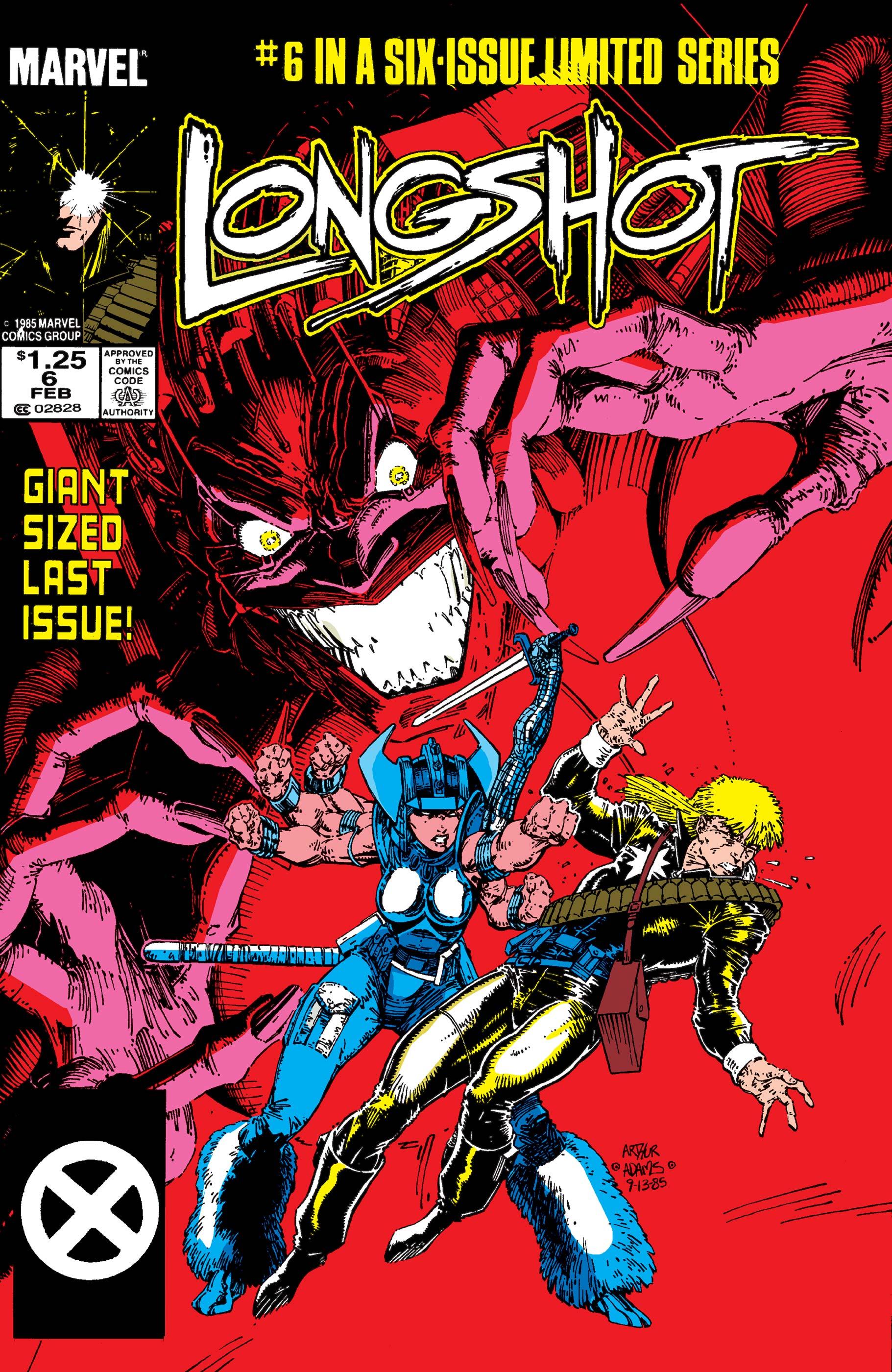 Longshot (1985) #6