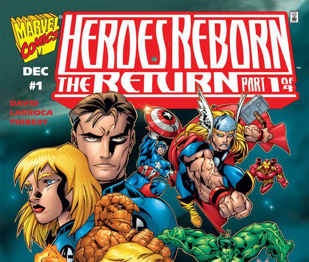 Heroes Reborn the Return #1