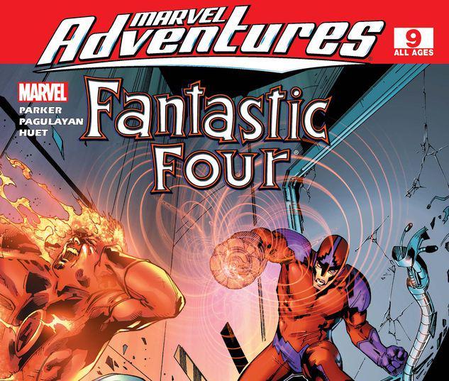 Marvel Adventures Fantastic Four #9