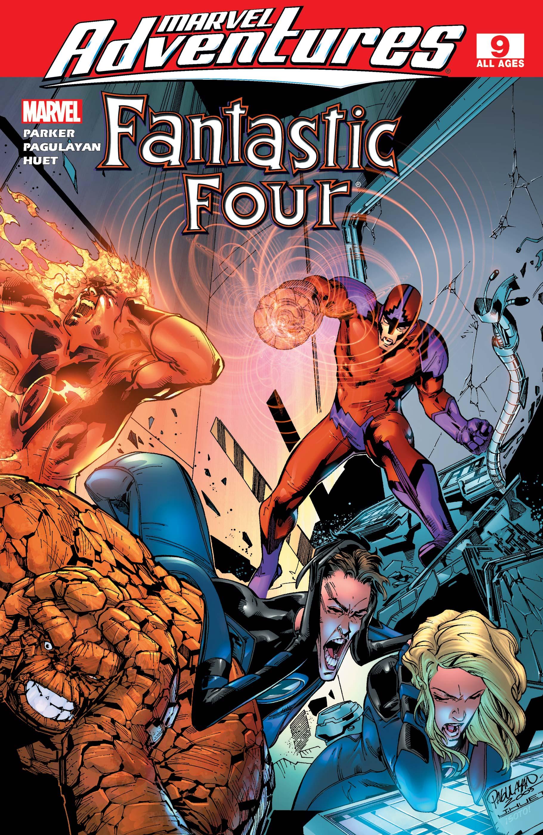 Marvel Adventures Fantastic Four (2005) #9