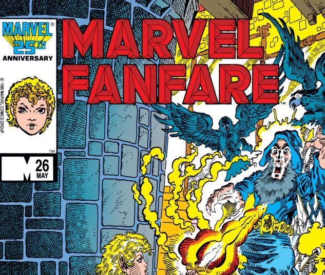 MARVEL FANFARE (1982) #26