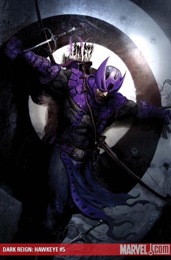 Dark Reign: Hawkeye (2009) #5