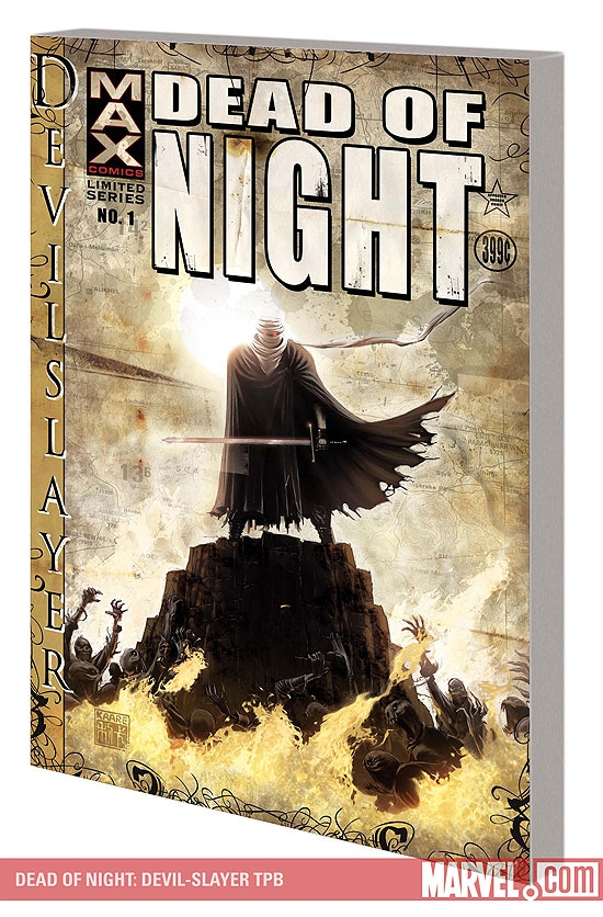 Dead of Night: Devil-Slayer (Trade Paperback)