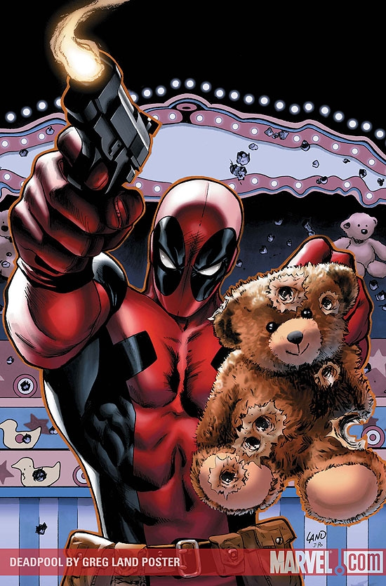 Deadpool by Greg Land Poster (2009) #1