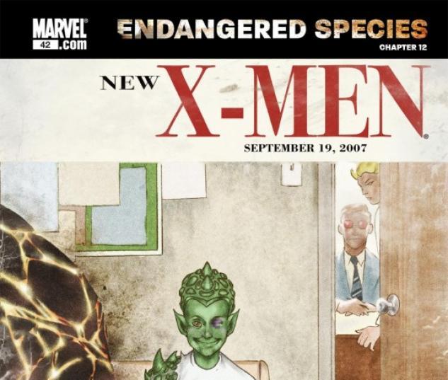 X-MEN: ENDANGERED SPECIES BACK-UP STORY #12