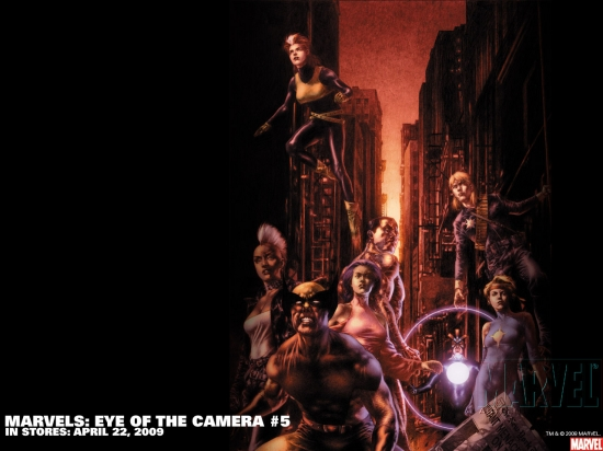 Marvels: Eye of the Camera (2008) #5 Wallpaper