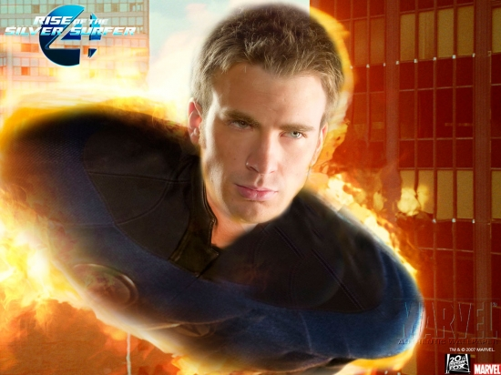 Fantastic Four: Rise Of The Silver Surfer: Human Torch