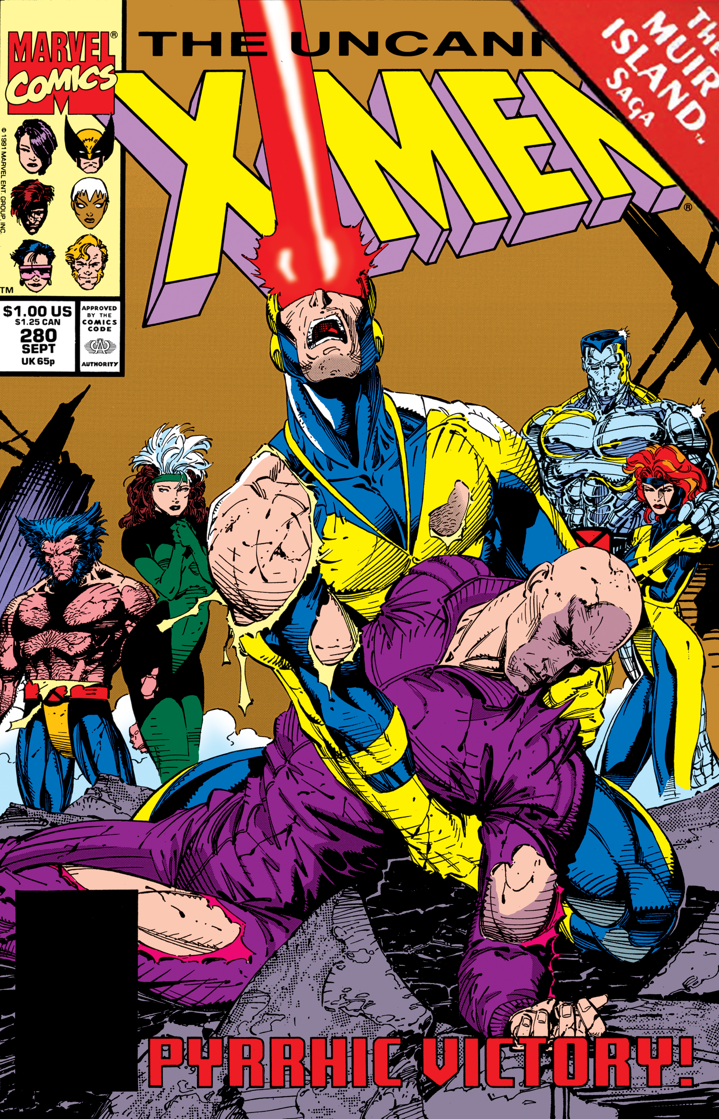 Uncanny X-Men (1963) #280
