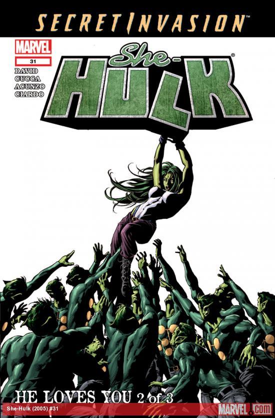 She-Hulk (2005) #31