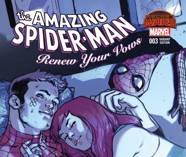 AMAZING SPIDER-MAN: RENEW YOUR VOWS 3 PICHELLI VARIANT (SW, WITH DIGITAL CODE)