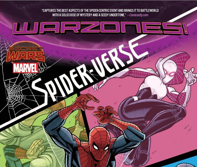 cover from Spider-Verse: Warzones (2015)