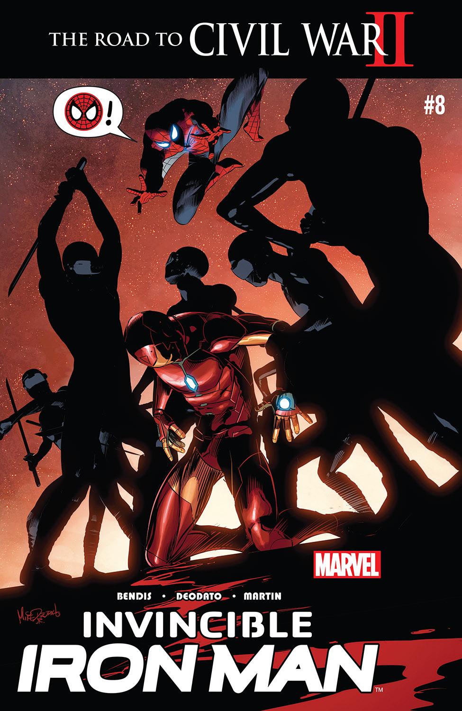 Invincible Iron Man (2015) #8