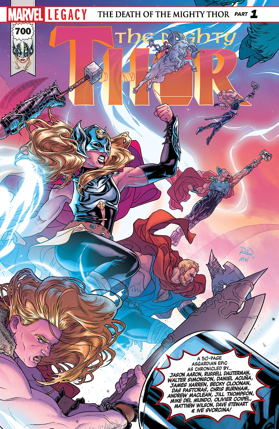 Mighty Thor (2015) #700