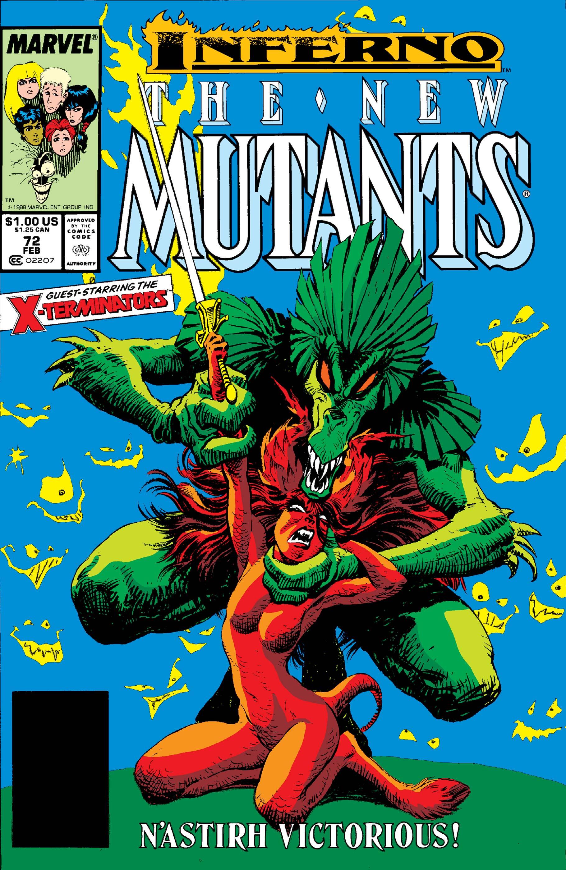 New Mutants (1983) #72