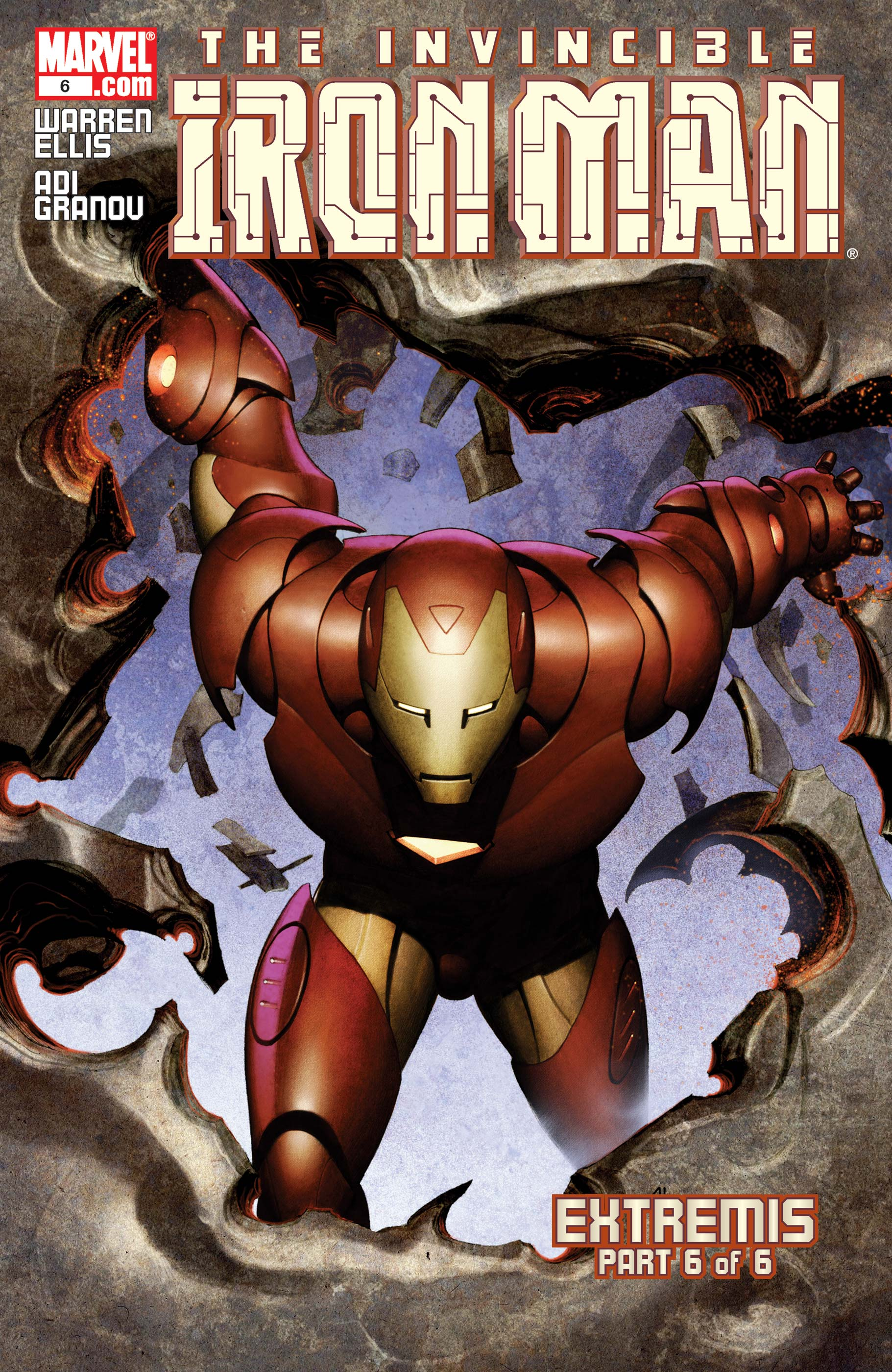 The Invincible Iron Man (2004) #6