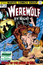 Werewolf By Night (1972) #35 cover