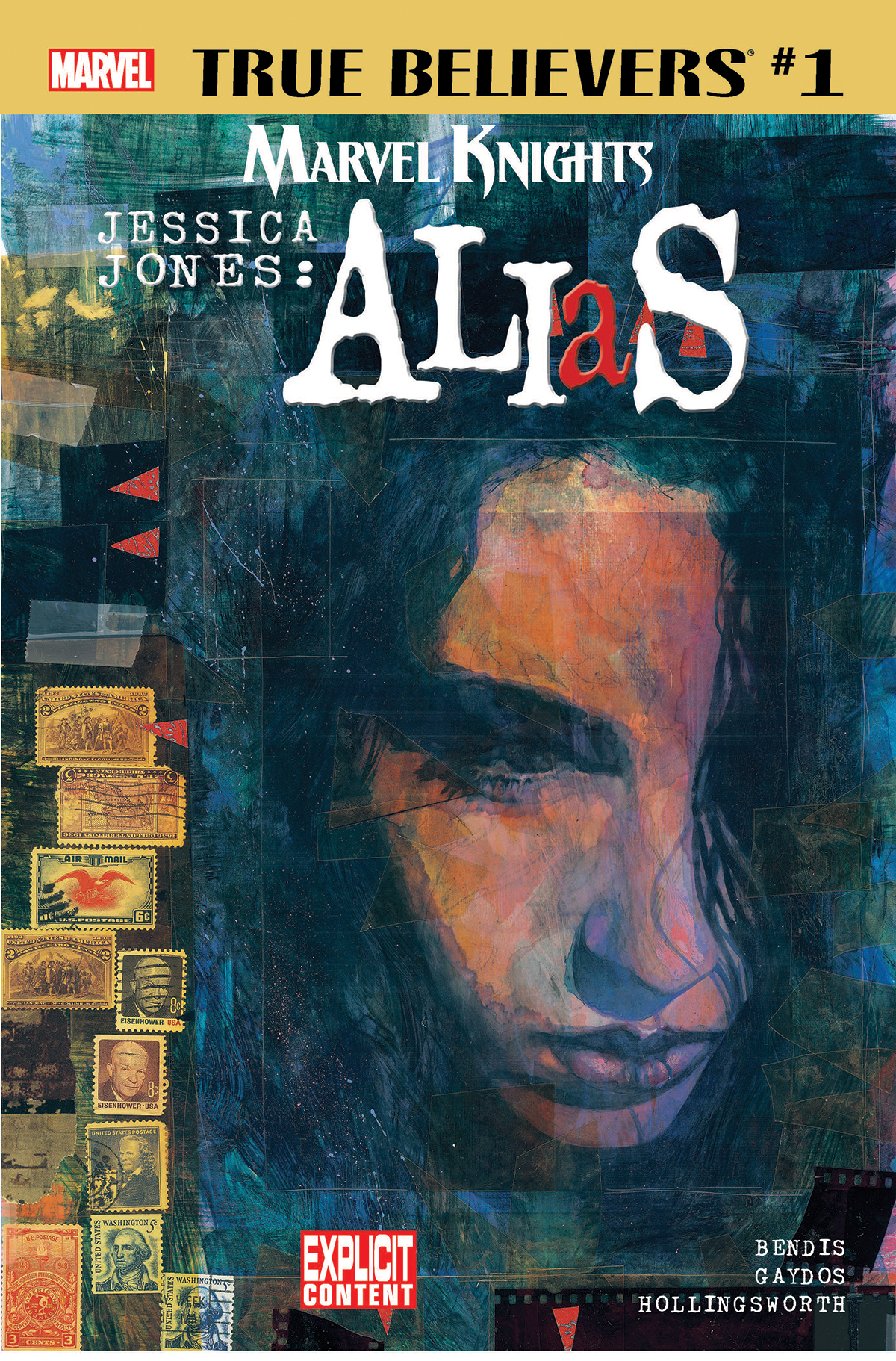 True Believers: Marvel Knights 20th Anniversary - Jessica Jones: Alias by Bendis & Gaydos (2018) #1