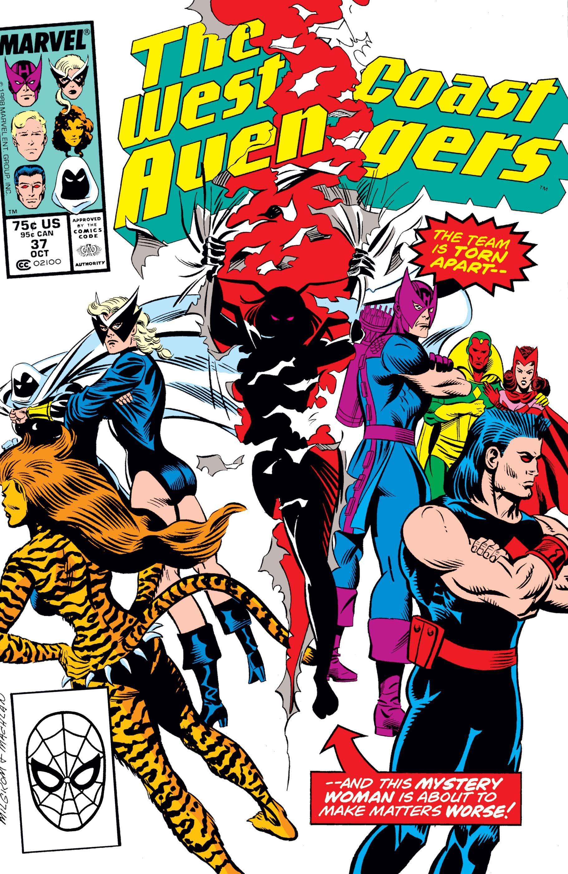 West Coast Avengers (1985) #37