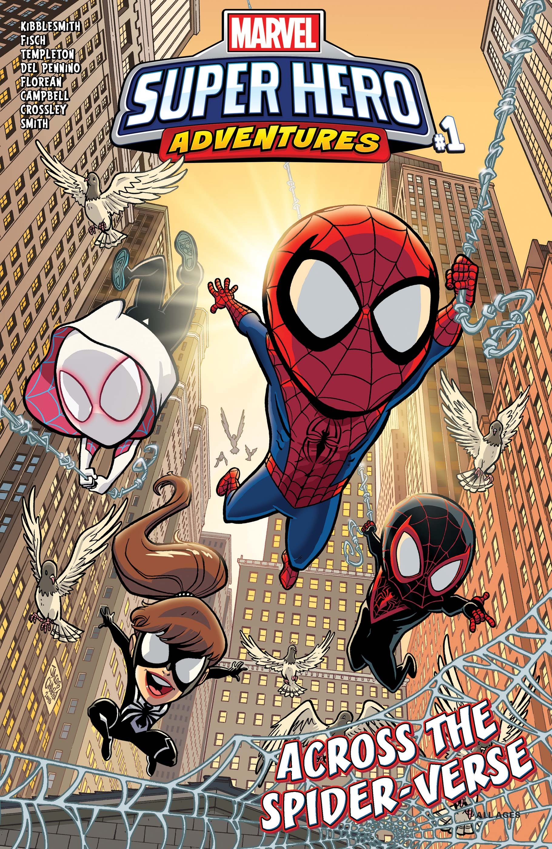 Marvel Super Hero Adventures: Spider-Man - Across the Spider-Verse (2019) #1