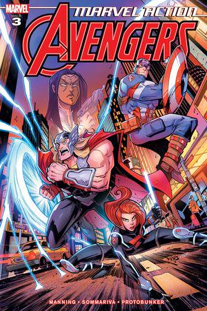 Marvel Action Avengers #3