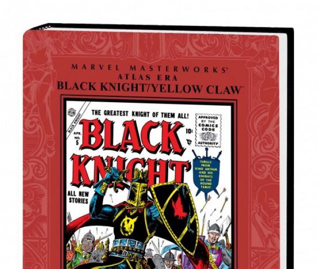 MARVEL MASTERWORKS: ATLAS ERA BLACK KNIGHT/YELLOW CLAW