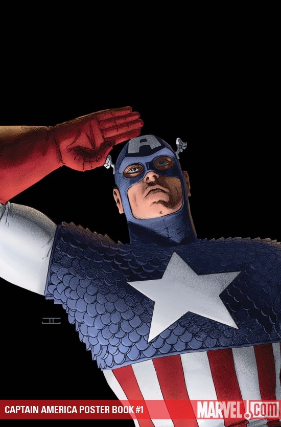 Captain America Poster Book (2009) #1
