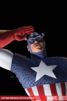 Captain America Poster Book #1