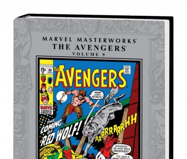 MARVEL MASTERWORKS: THE AVENGERS VOL. 9 HC #1
