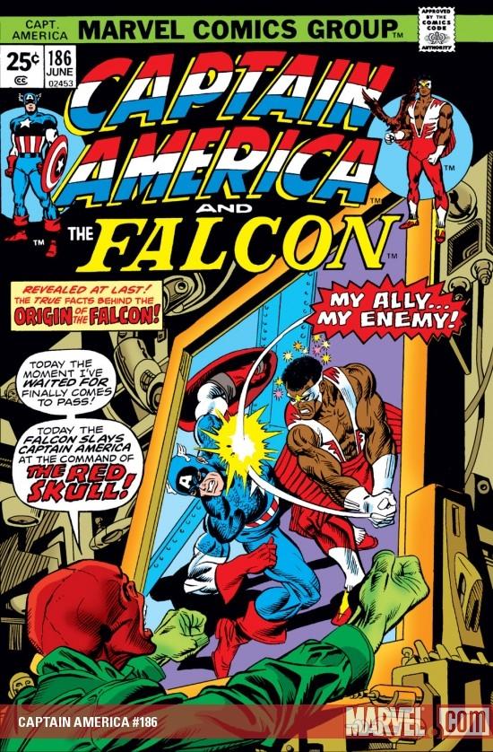 Captain America (1968) #186