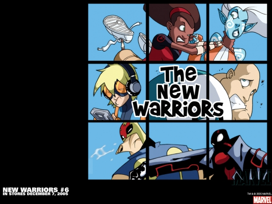 New Warriors (2005) #6 Wallpaper