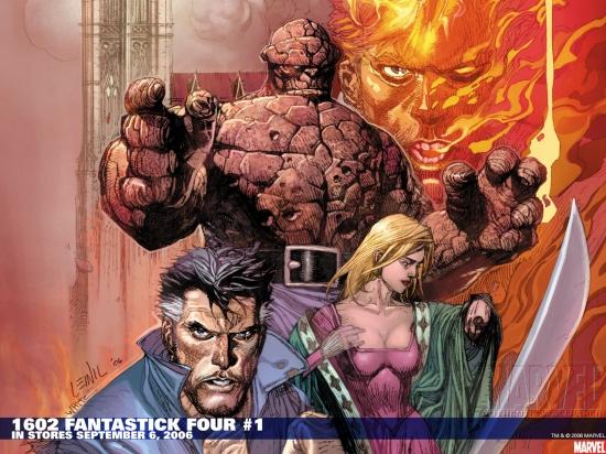 Marvel 1602: Fantastick Four (2006) #1 Wallpaper
