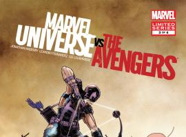 Marvel Universe Vs. the Avengers (2012) #3 Cover