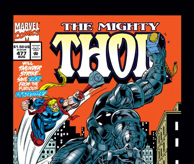 Thor (1966) #477 Cover