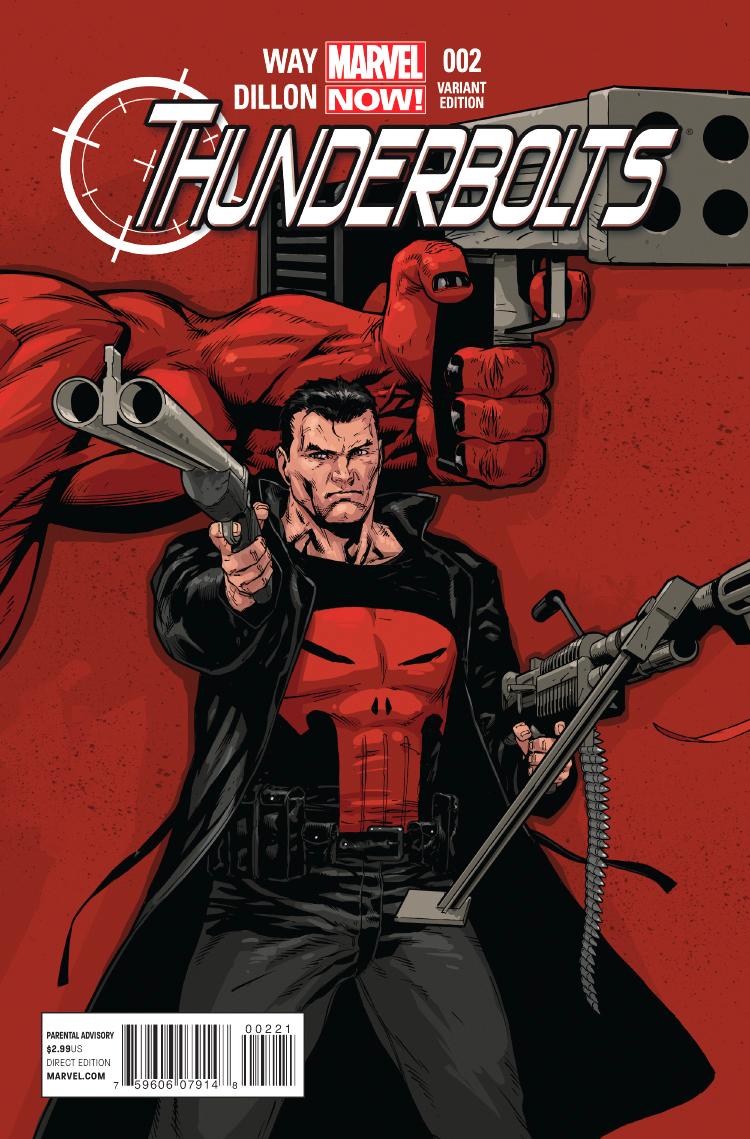 Thunderbolts (2012) #2 (Tan Variant)